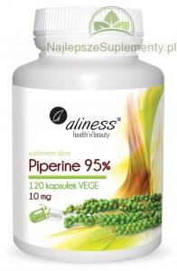 Piperine 95% 10mg w 120 kaps.
