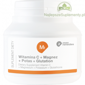 GLUTATION WITAMINA C MAGNEZ POTAS INVEX Mt 150G