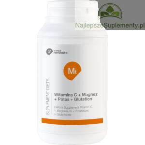 GLUTATION WITAMINA C MAGNEZ POTAS INVEX Mt 450g